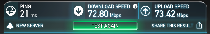 speed test results, is my internet voip ready?