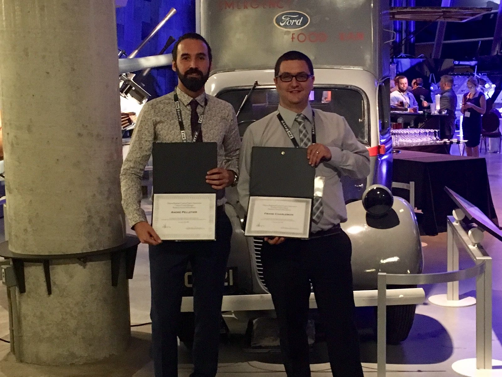 Versature's Support Team members Frank and Andre win at the 2016 ORCCA Call Centre Awards!